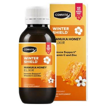 Comvita Winter Shield Manuka Honey Elixir with Vitamin C & Zinc 100ml