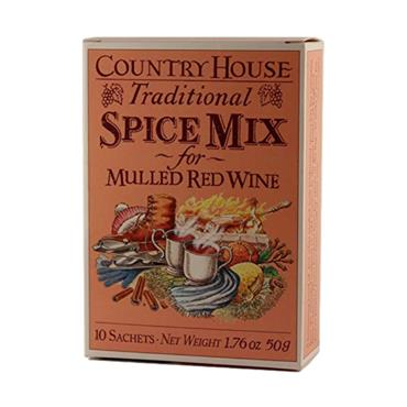 Country House Traditional Spice Mix for Mulled Wine 10 sachets