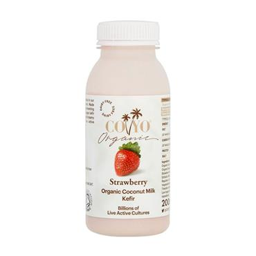 Coyo Organic Strawberry Kefir 200ml