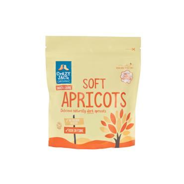 Crazy Jack Organic Soft Apricots 250g