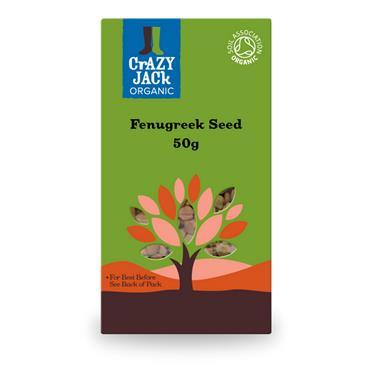 Crazy Jack Organic Fenugreek Seed 50g