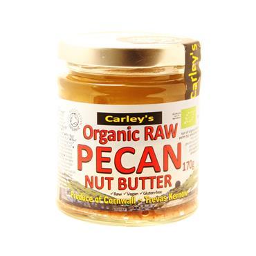 Carley's Organic Raw Pecan Butter 170g