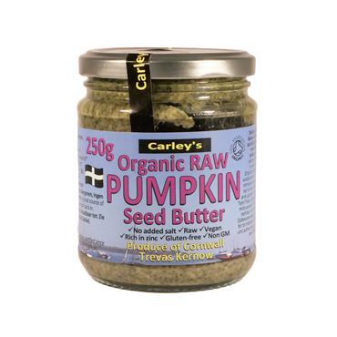 Carley's Organic Raw Premium Pumpkin Seed Butter 250g