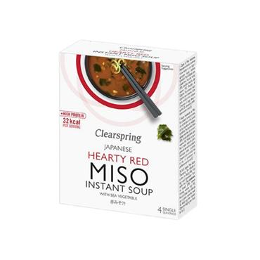 Clearspring Red Instant Miso Soup with Sea Vegetables