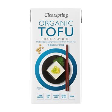 Clearspring Organic Tofu Silken & Smooth 300g