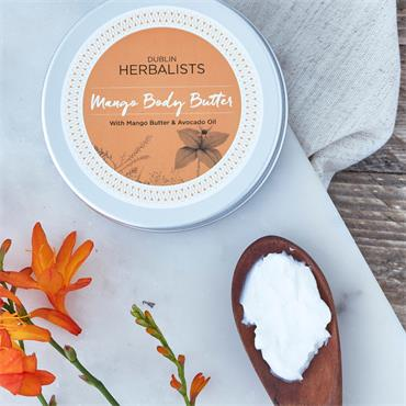 Dublin Herbalists mango body butter 200ML