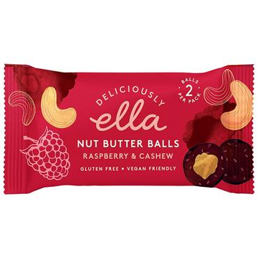 Deliciously Ella Raspberry & Cashew Nut Butter Ball 35g