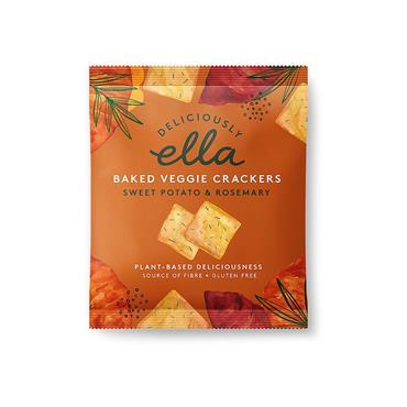 Deliciously Ella Sweet Potato Rosemary Crackers 30g
