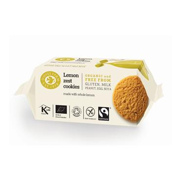 Doves Farm Organic Gluten-free Lemon Zest Cookies 150g