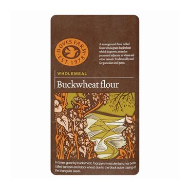 Doves Farm Wholemeal Buckwheat Flour 1kg