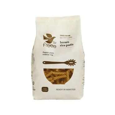 Doves Farm Organic Gluten Free Brown Rice Fusilli 500g