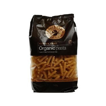 Doves Farm Organic Gluten Free Brown Rice Fusilli 500g