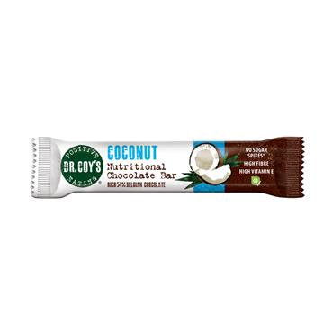 Dr Coy's Coconut Chocolate Bar 35g