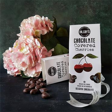 Dr Coy's Chocolate Covered Cherries 100g
