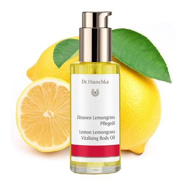 Dr Hauschka Lemon Lemongrass Body Oil 75ml