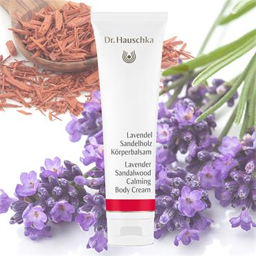 Dr Hauschka Lavender Sandalwood Calming Body Cream 145ml