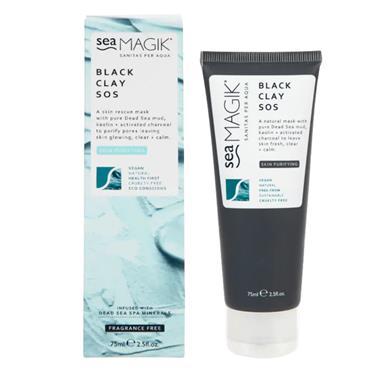 Sea Magik SOS Black Clay Mask 75ml
