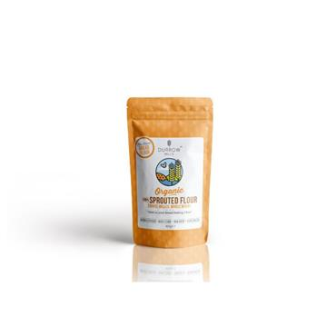 Durrow Mills Organic Coarse Milled Whole Wheat 100% Sprouted Flour 450g