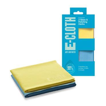 E-Cloth Glass Polishing Cloth Pack 2s