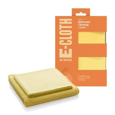 E-Cloth Bathroom Cleaning Cloth Pack 2s