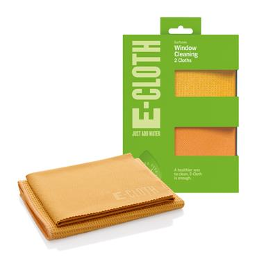 E-cloth Window Cleaning Cloths Pack 2s