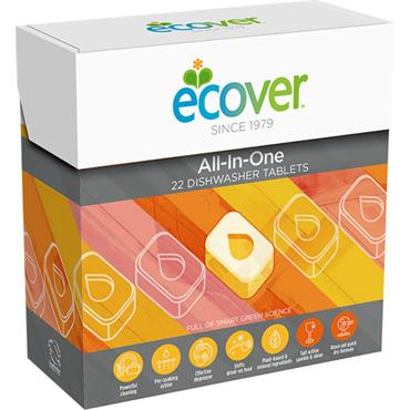 ECOVER DISHWASHER ALL IN ONE 22TAB
