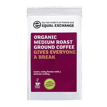Equal Exchange Organic Medium Roast Ground Coffee 227g