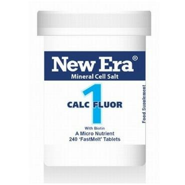 New Era No 1. Calc Fluor 240 Tablets