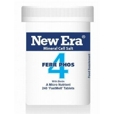 New Era No. 4 Ferr Phos 240 Tablets