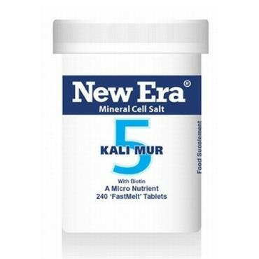 New Era No. 5 Kali Mur 240 Tablets