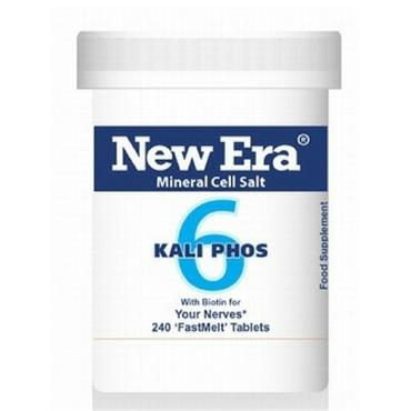 New Era No. 6 Kali Phos 240 Tablets