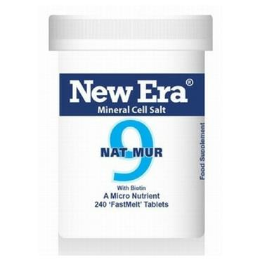 New Era  No. 9 Nat Mur 240 Tablets