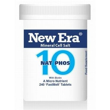 New Era No.10 Nat Phos 240 Tablets