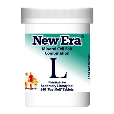 New Era Mineral Cell Salt Combination L - 240 Tablet