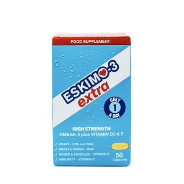 Eskimo Omega 3 Extra With D3 + E