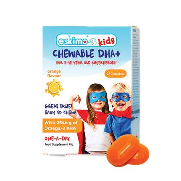 Eskimo Kids DHA+ 27 Chewables