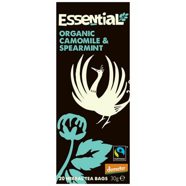 Essential Organic Camomile & Spearmint Tea 20 Bags