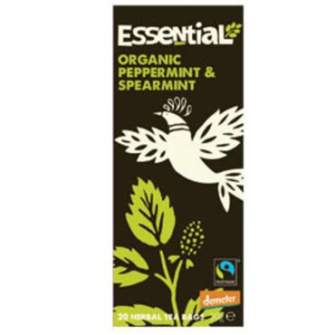Essential Organic Peppermint & Spearmint 20 Tea Bags