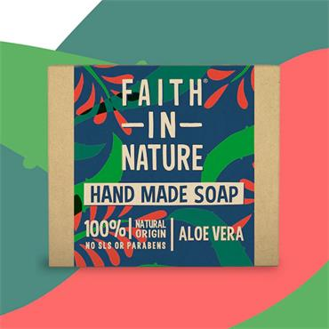 Faith in Nature Aloe Vera Soap Bar 100g