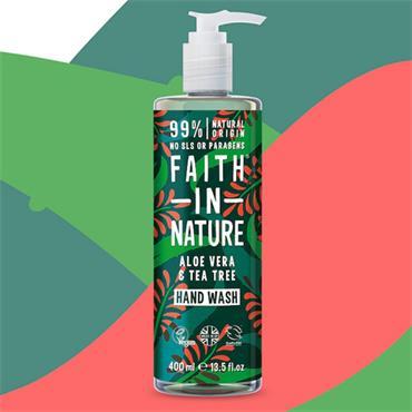Faith in Nature Aloe Tea Tree Handwash 400ml