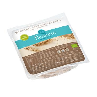 Florentin Organic Kitchen Organic Whole Wheat Pita Bread 280g