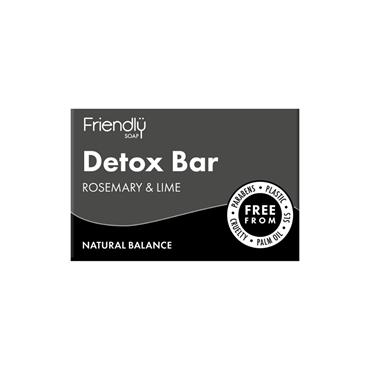 Friendly Detox Soap Bar 95G Rosemary & Lime