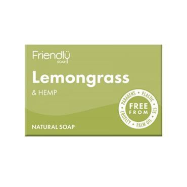 Friendly Lemongrass & Hemp Soap Bar 95g