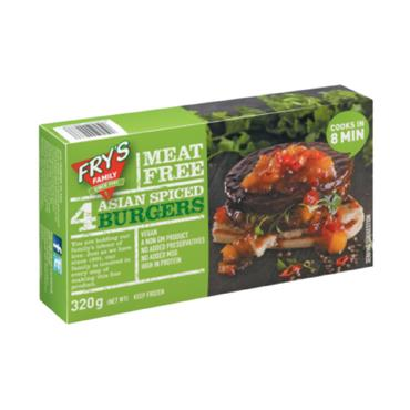 Fry's Asian Spice Burgers 450g