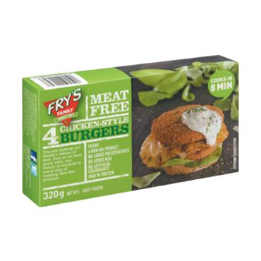 Fry's Chicken-Style Burgers 320g
