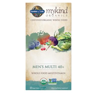 Garden of Life mykind Organic Men's 40+ Multi 60s