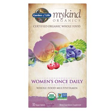 Garden of Life mykind Organic Women's Once Daily 30s