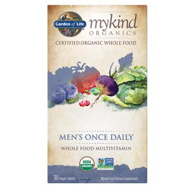 Garden of Life mykind Organic Men's Once Daily 30s