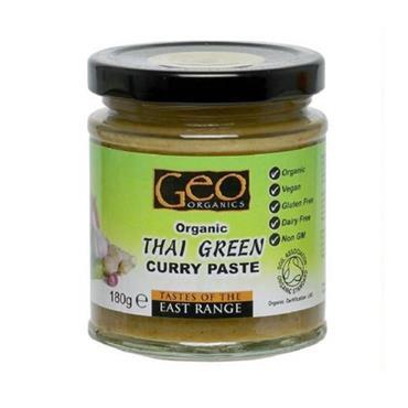 Geo Organics Thai Green Curry Paste