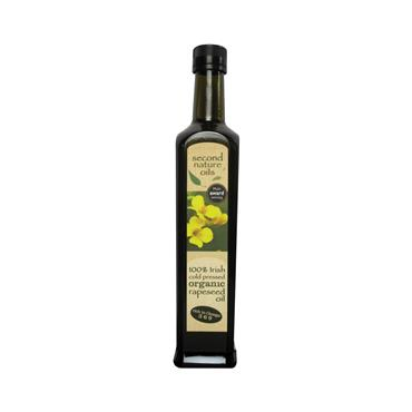Second Nature Irish Organic Rapeseed Oil  500ml